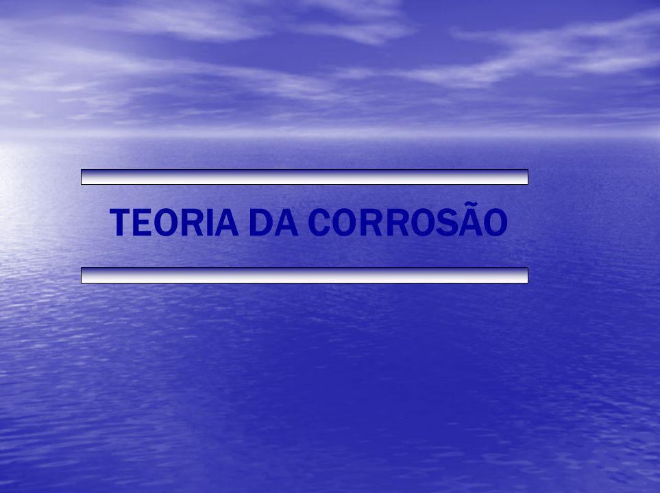 TEORIA DA CORROSÃO
