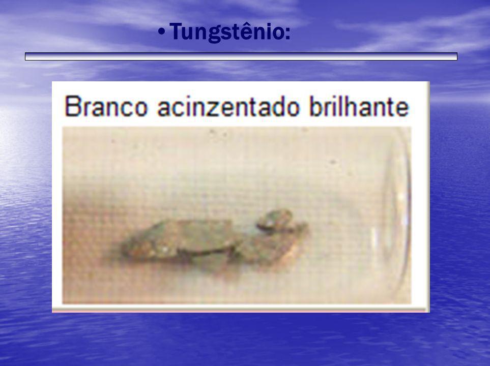 Tungstênio: