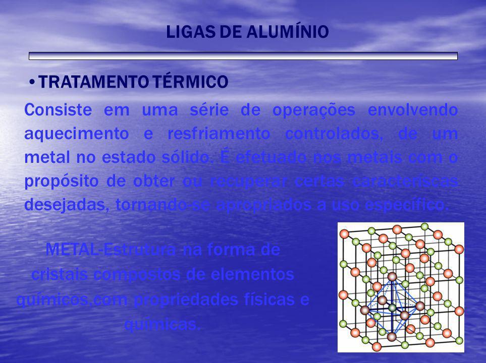 TRATAMENTO TÉRMICO Consiste em uma série de operações envolvendo aquecimento e resfriamento controlados, de um metal no estado sólido. É efetuado nos