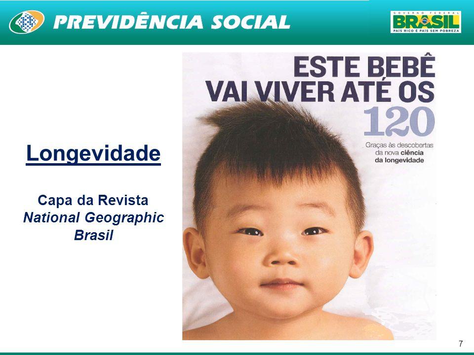 8 BRASIL: O PAÍS DOS IDOSOS Em 1950, havia 2,6 milhões de idosos; Hoje, são 23,5 milhões de idosos; Em 2050, estimativa de 65 milhões de idosos.
