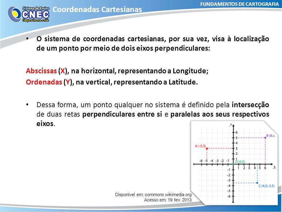 FUNDAMENTOS DE CARTOGRAFIA Coordenadas Geográficas Em laboratório Atividade orientada: Siga as recomendações dispostas na p.