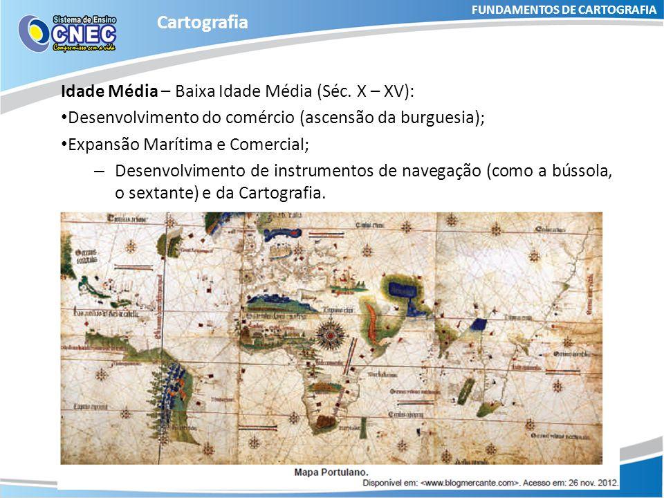 FUNDAMENTOS DE CARTOGRAFIA Cartografia Curiosidade O mapa mais antigo encontrado, provavelmente, foi produzido pelos babilônios por volta de 2500 a.C.