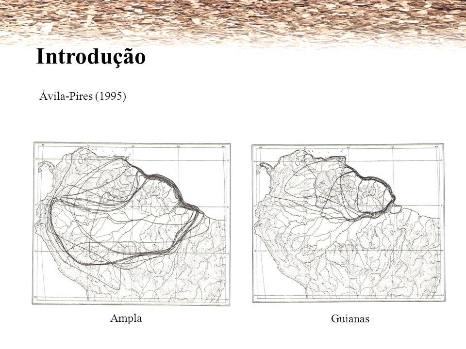 Ávila-Pires (1995) Introdução Ampla Guianas