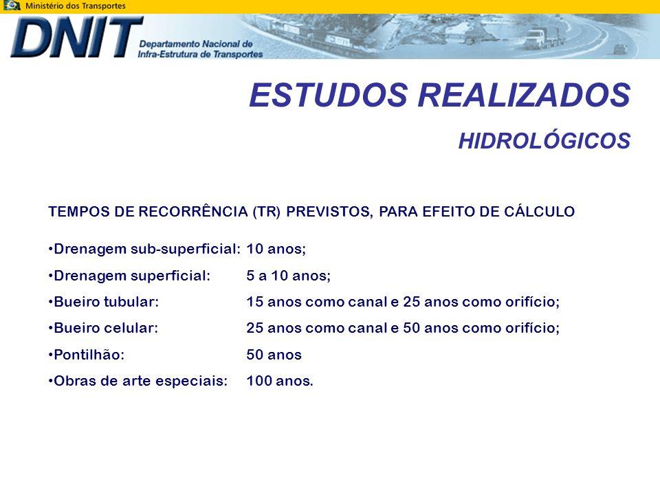 ESTUDOS REALIZADOS VISTORIA DE OBRAS DE ARTE ESPECIAIS OBRA DE ARTE ESPECIALLOCALIZAÇÃO (km)EXTENSÃO (m) Ponte sobre o rio Melgaço198,40105,00 Ponte sobre o rio Riozinho224,1070,00 Ponte sobre o igarapé Grande276,4060,00 Ponte sobre o córrego Leitão311,7070,00 Ponte sobre o rio Machado349,00260,00 Ponte sobre o rio Boa Vista357,7035,00 Ponte sobre o igarapé Miolo372,7064,40 O segmento em estudo da rodovia BR-364/RO possui 7 (sete) Obras de Arte Especiais, a saber: