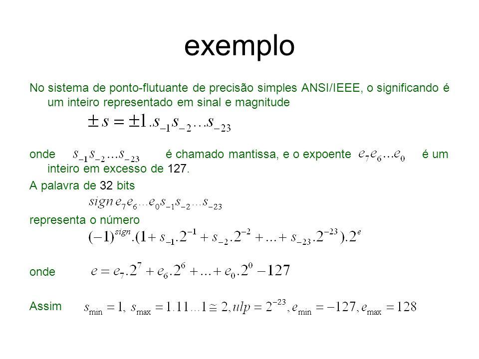 Apesar de e min e e max não serem usados para representarem números ordinários, eles são usados para representar e outros números não-ordinários.