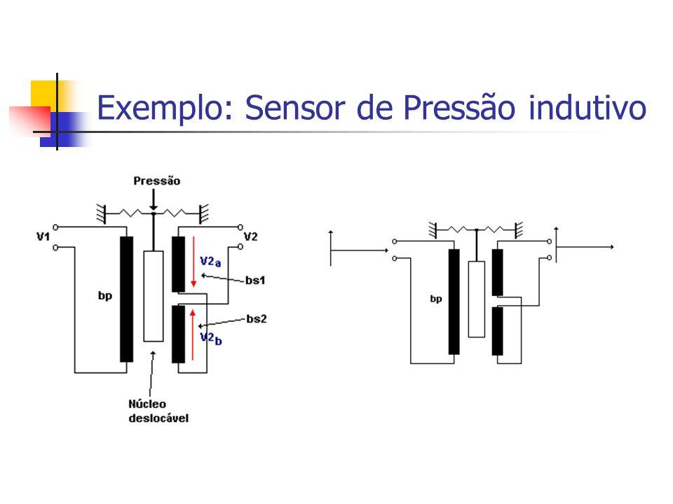 Exemplo: Sensor de Pressão indutivo