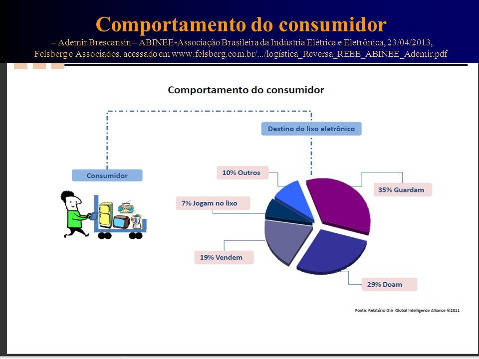 Destino de parte dos REEE Segundo Carlos Silva Filho, no site já informado.