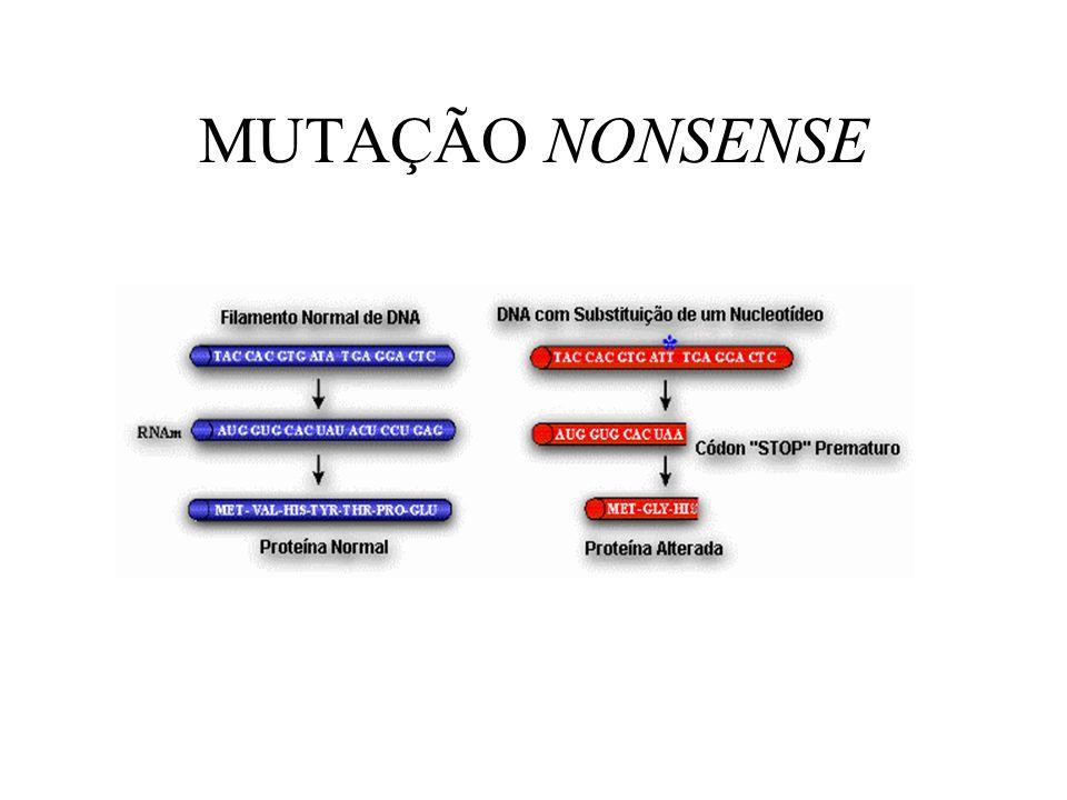 MUTAÇÃO NONSENSE