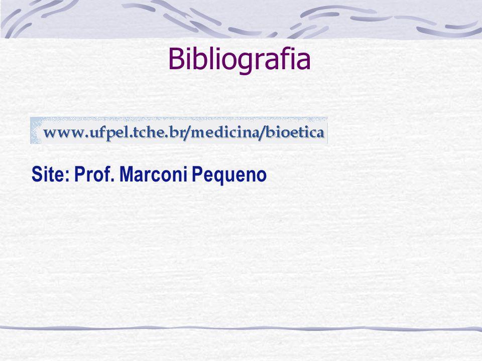 Bibliografia Site: Prof. Marconi Pequeno
