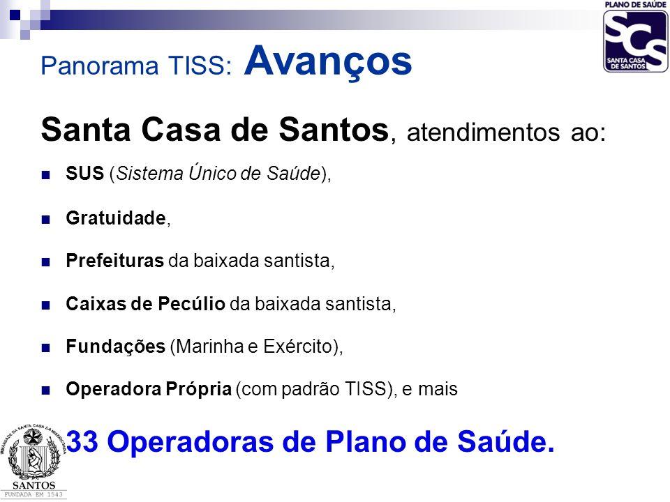 Santa Casa de Santos, atendimentos ao: SUS (Sistema Único de Saúde), Gratuidade, Prefeituras da baixada santista, Caixas de Pecúlio da baixada santist