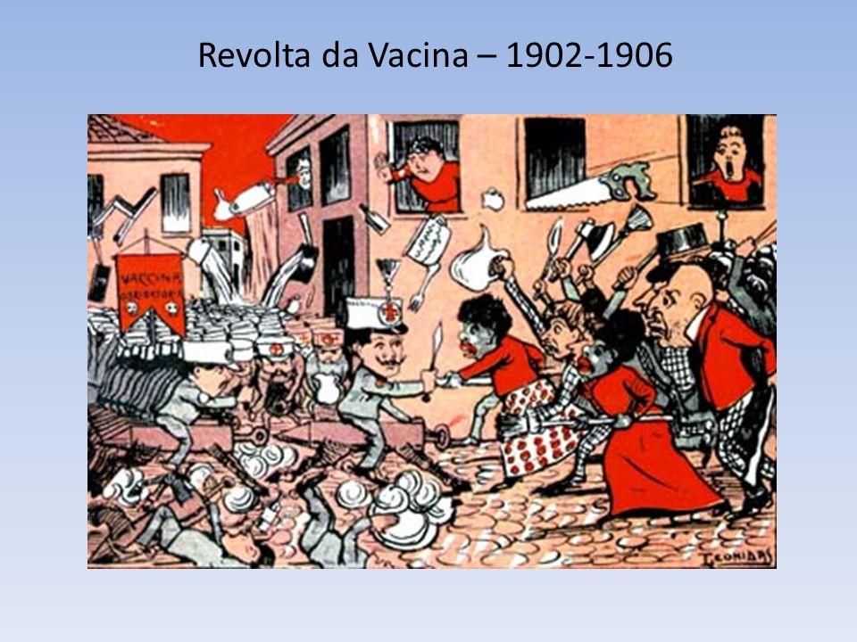 Revolta da Vacina – 1902-1906