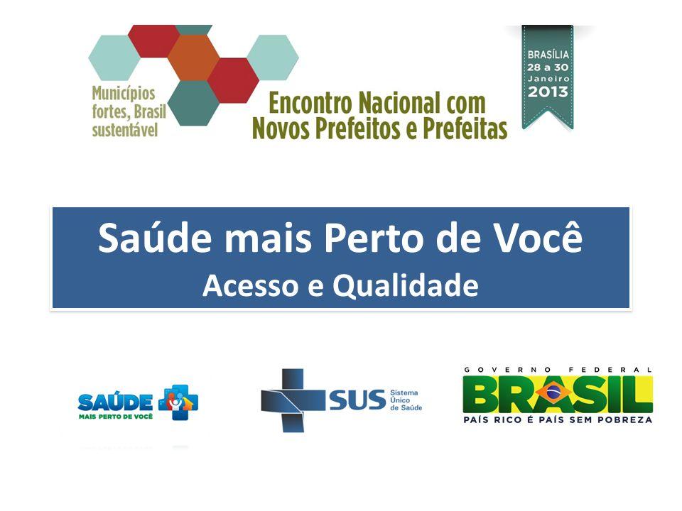 Panorama 28 Convênio assinados para Construção de UBS Fluviais 2011/12 R$ 34 milhões disponibilizados Critérios de priorização Amazônia Legal e Pantanal Matogrossense Percentual de população em pobreza extrema Número total e proporção de população rural ribeirinha CONSTRUÇÃO DE UBS FLUVIAIS Nova Seleção A partir de fevereiro de 2013 Aproximadamente 22 novas UBS Fluviais Nova Seleção A partir de fevereiro de 2013 Aproximadamente 22 novas UBS Fluviais Solicitação Através do sistema de cadastramento de propostas disponibilizado no portal do DAB Novos Valores: Até R$ 1,6 milhão por UBS Custeio: até R$ 50 mil mês