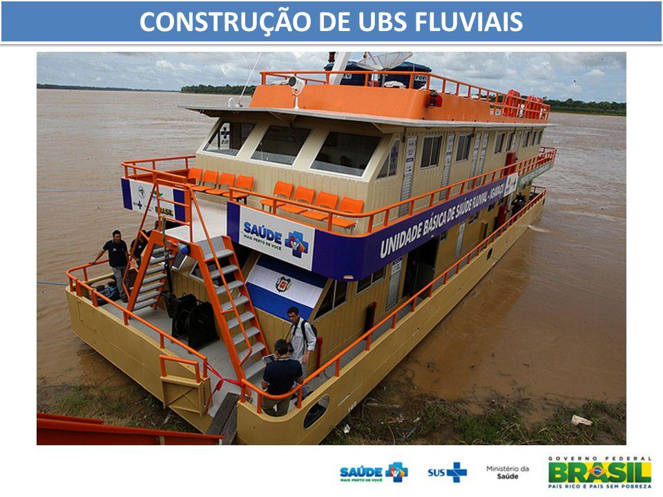 CONSTRUÇÃO DE UBS FLUVIAIS
