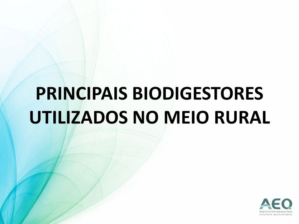 PODEM SER: contínuos: proporcionam permanente fornecimento de gás e biofertilizante.