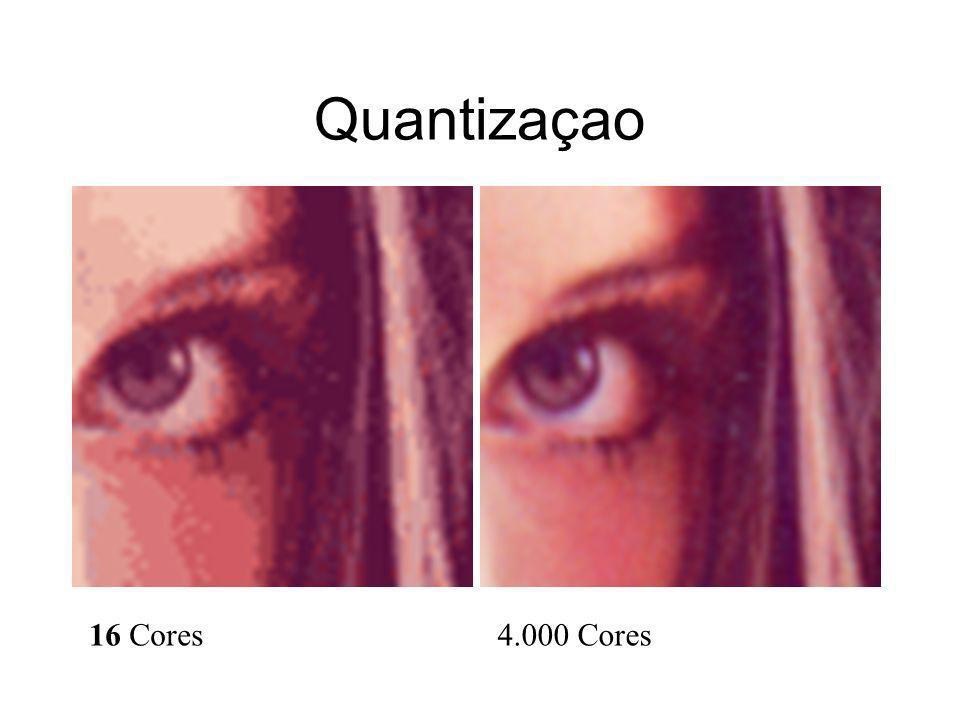 Quantizaçao 16 Cores4.000 Cores