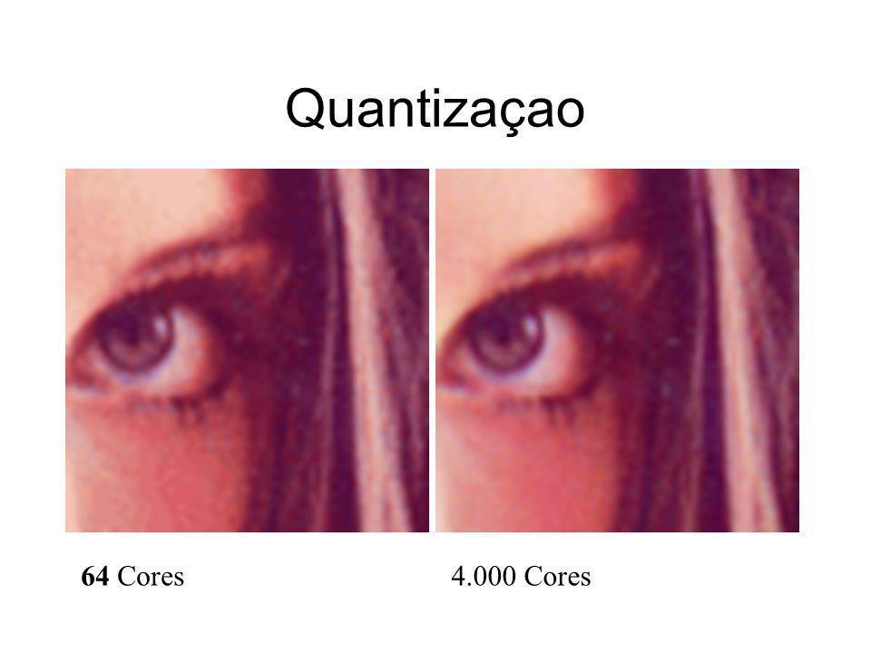 Quantizaçao 64 Cores4.000 Cores