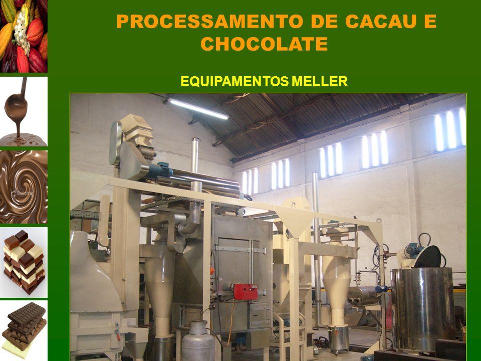 PROCESSAMENTO DE CACAU E CHOCOLATE EQUIPAMENTOS MELLER