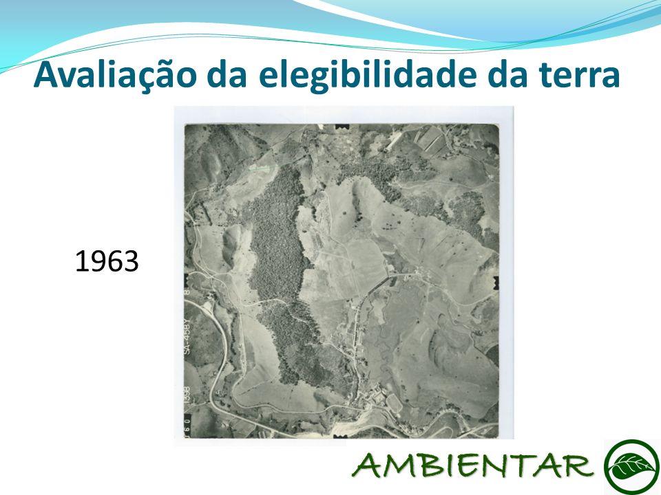 Avaliação da elegibilidade da terra 1963