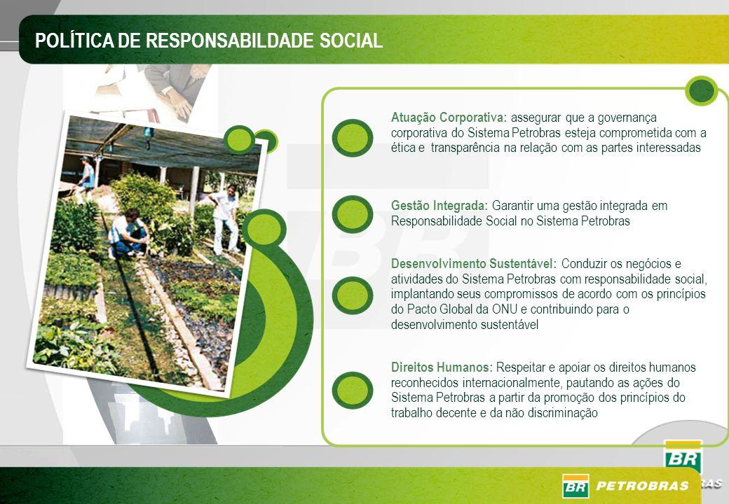Atuação Corporativa: assegurar que a governança corporativa do Sistema Petrobras esteja comprometida com a ética e transparência na relação com as par