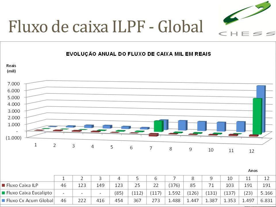 Fluxo de caixa ILPF - Global