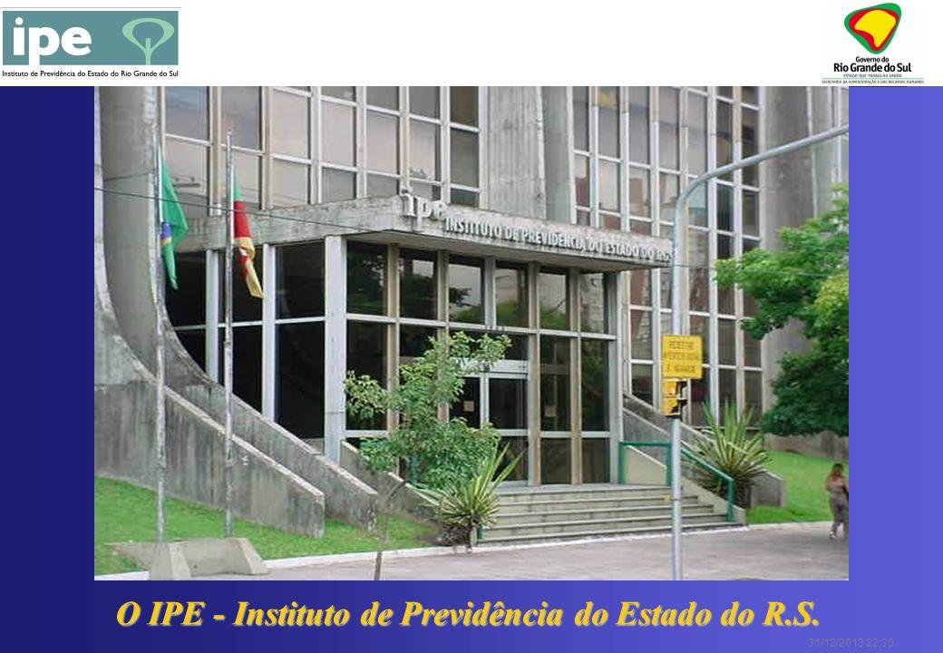 31/12/2013 22:30 O que é o IPE: Autarquia, criada pelo Decreto nº 4.842, de 08 de agosto de 1931, vinculada à Secretaria da Administração e dos Recursos Humanos