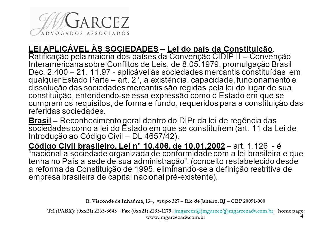 5 REGIME SOCIETÁRIO NO BRASIL CÓDIGO CIVIL – Art.
