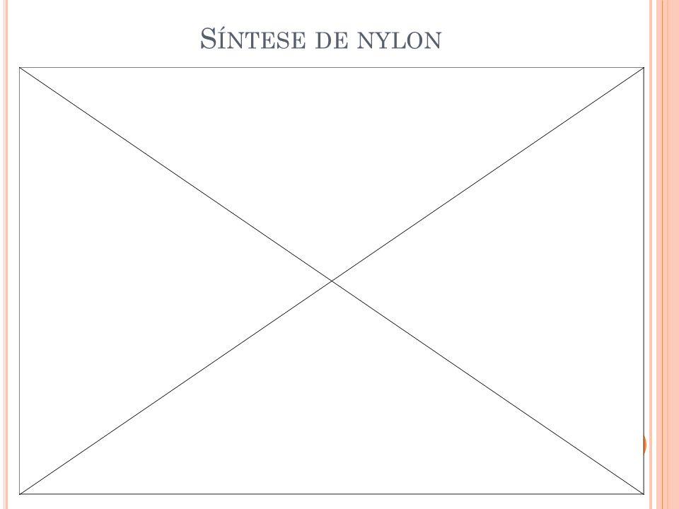 S ÍNTESE DE NYLON