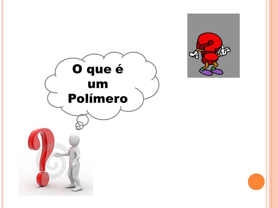 Os polímeros são compostos químicos de elevada massa molecular, resultantes de reações químicas de polimerização.massa molecularreações químicaspolimerização Trata-se de macromoléculas formadas a partir de unidades estruturais menores (os monómeros).macromoléculasmonómeros O número de unidades repetidas na cadeia de uma macromolécula