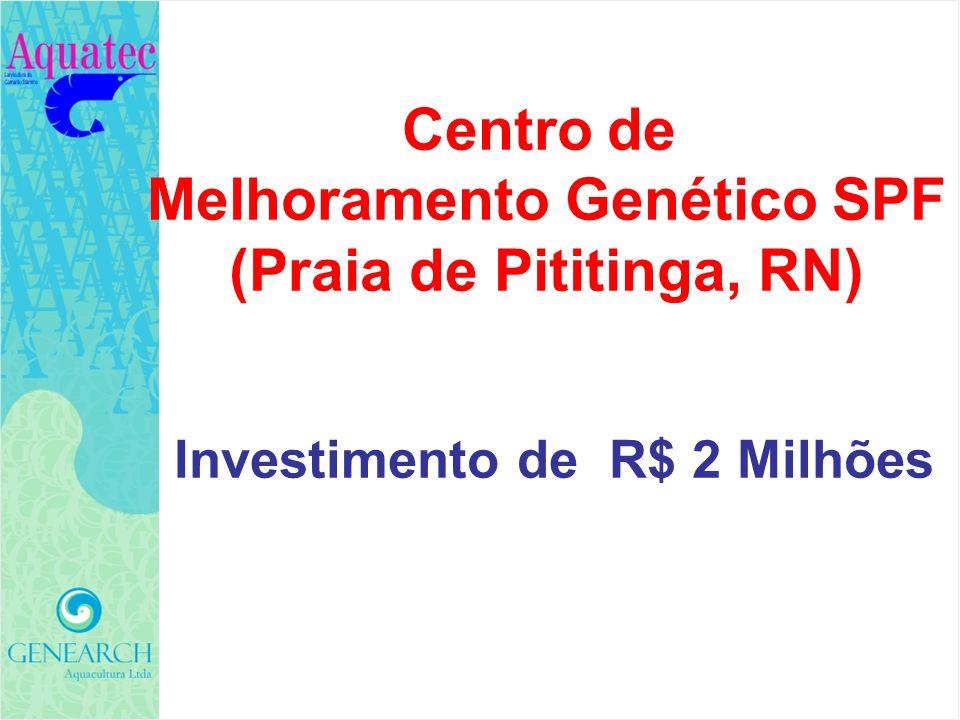 Centro de Melhoramento Genético SPF (Praia de Pititinga, RN) Investimento de R$ 2 Milhões