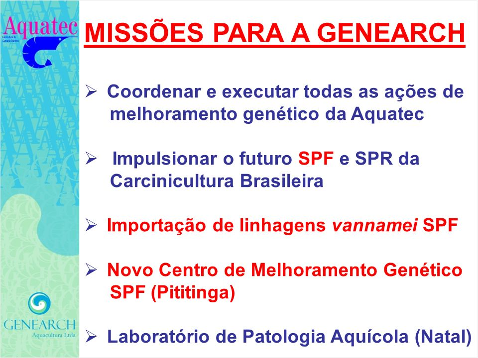 FOCOS PARA A PALESTRA FOCOS PARA A PALESTRA 1.O CONCEITO DE LINHAGENS LIVRES DE PATÓGENOS (SPECIFIC PATHOGEN FREE; SPF) 2.