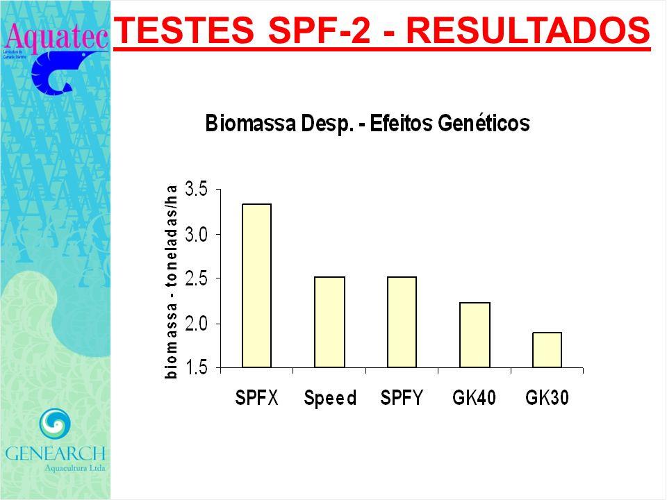 TESTES SPF-2 - RESULTADOS