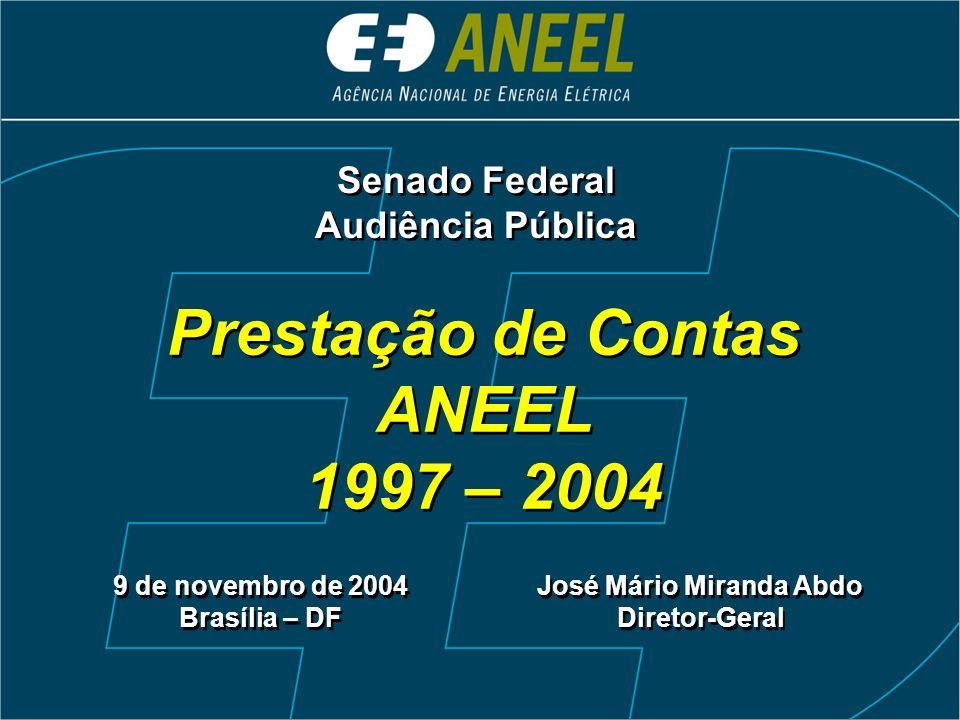Controle Social Avaliação das Agências Reguladoras e Inst.