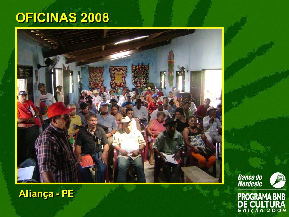 Aliança - PE OFICINAS 2008