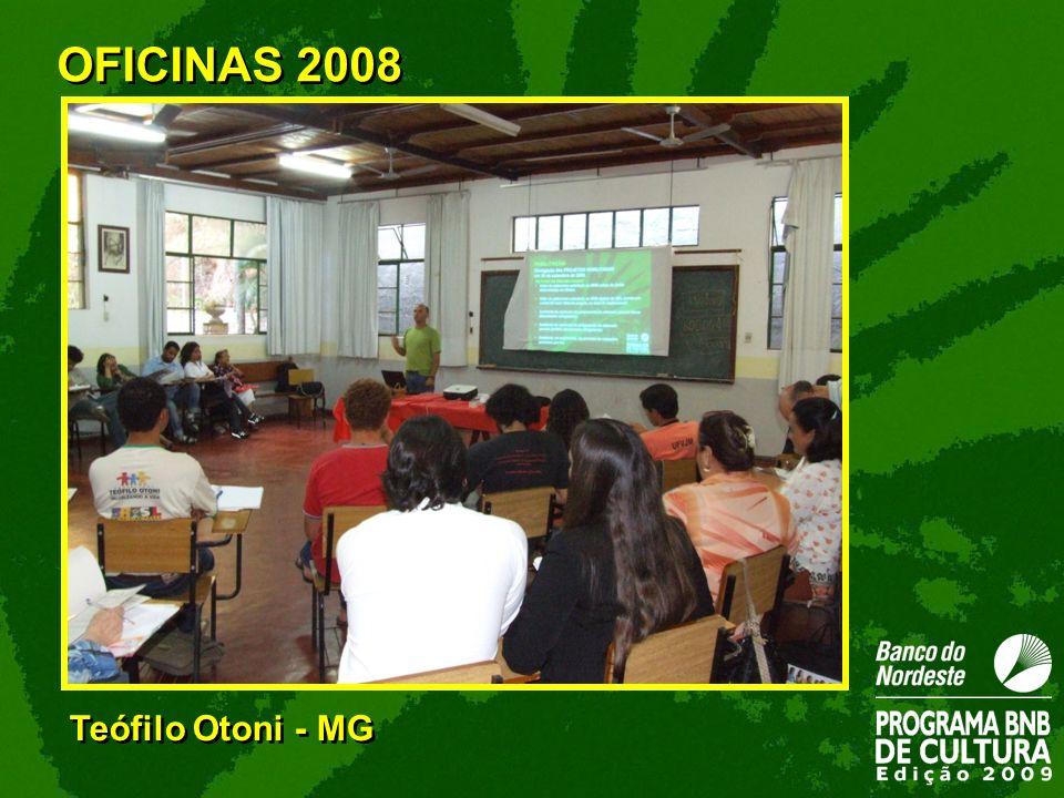 Teófilo Otoni - MG OFICINAS 2008