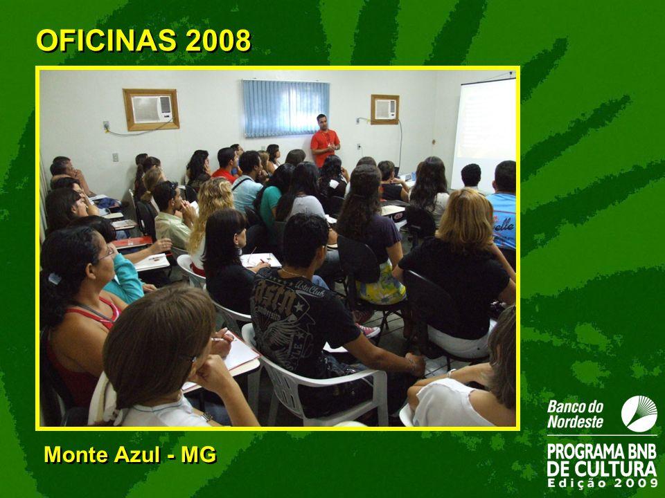 Monte Azul - MG OFICINAS 2008