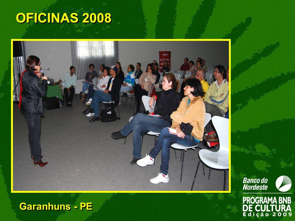 Garanhuns - PE OFICINAS 2008