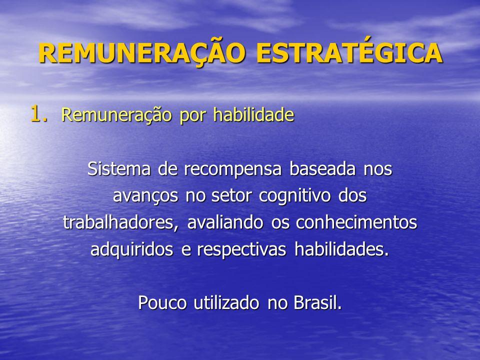 REMUNERAÇÃO ESTRATÉGICA 1.