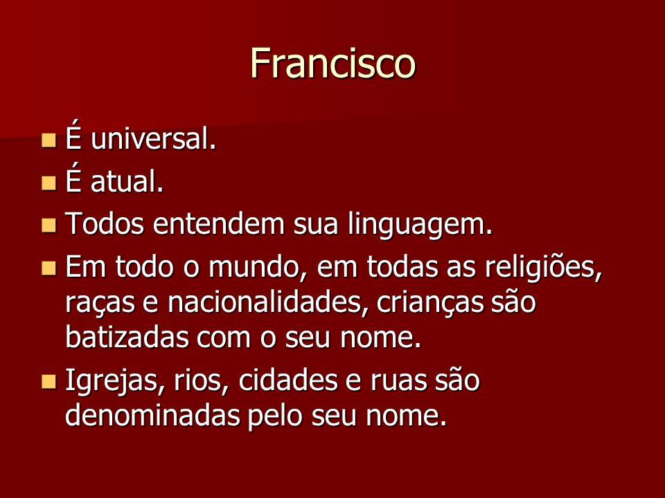 Afinal.Quem é Francisco. Quem é Francisco. De onde vem sua imensa mensagem de paz.