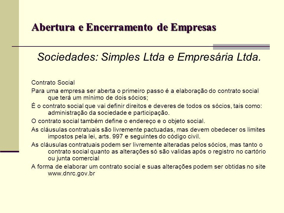 Abertura e encerramento de empresas INSCRIÇÕES ALVARÁ DE FUNCIONAMENTO.
