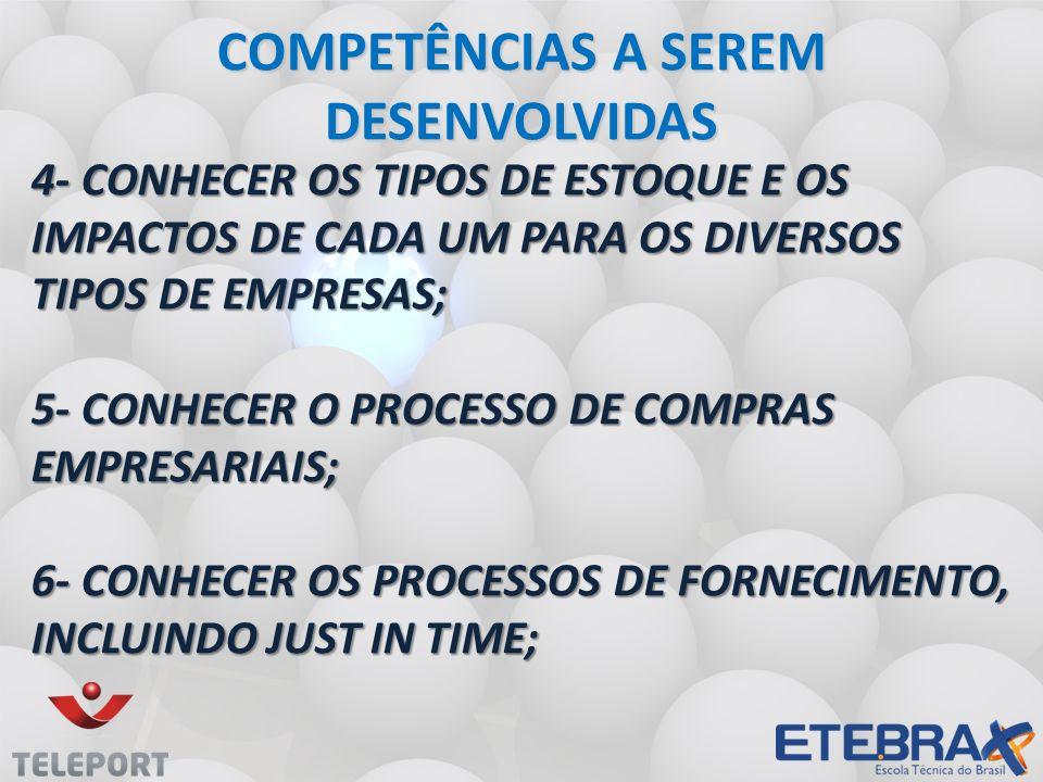 CADASTRAMENTO DE MATERIAIS CADASTRAMENTO DE MATERIAIS ENTENDENDO MELHOR: Atribuir código que o diferencie dos demais produtos.;
