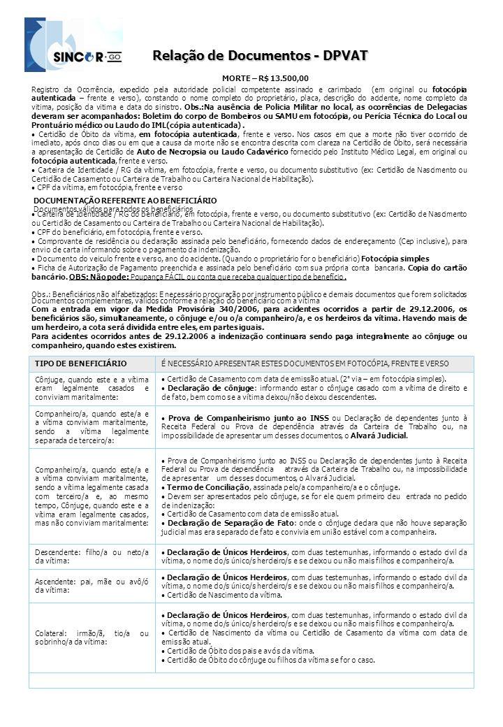 Registro da Ocorrência, expedido pela autoridade policial competente assinado e carimbado (em original ou fotocópia autenticada – frente e verso), con