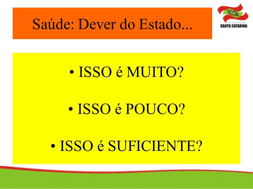 DISTRIBUIÇÃO DO TETO FINANCEIRO DE ASSISTÊNCIA DO ESTADO DE SANTA CATARINA (2004)