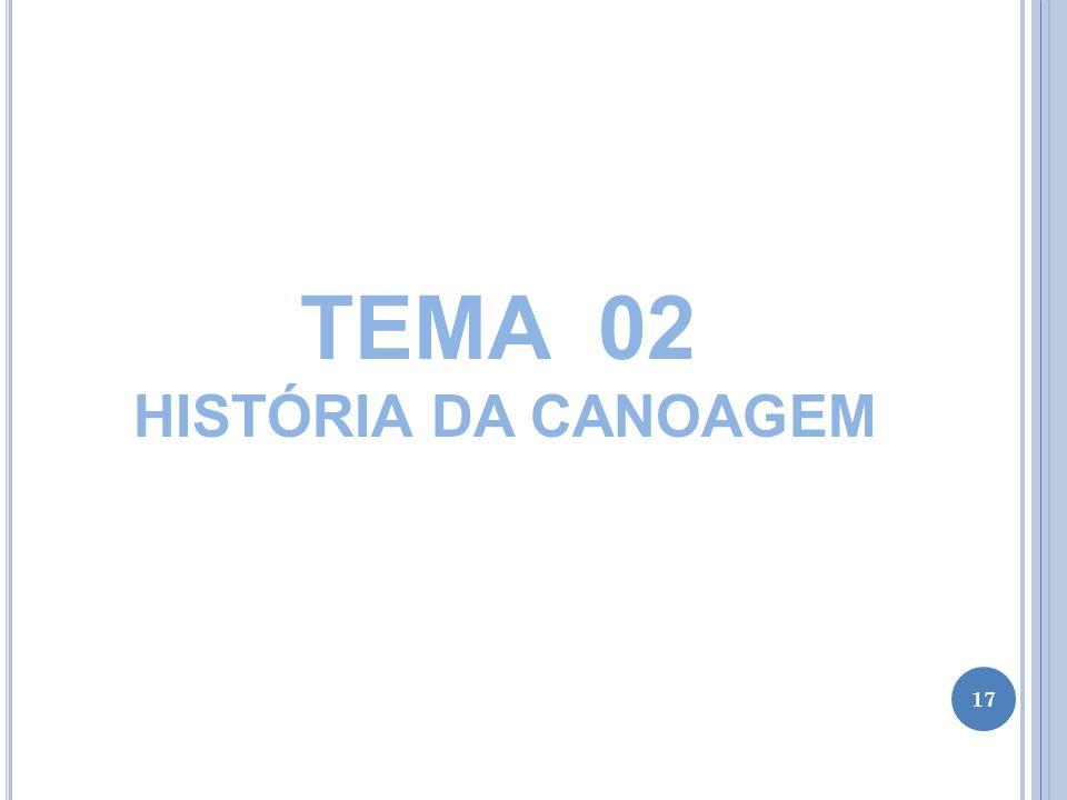 TEMA 02 HISTÓRIA DA CANOAGEM 17