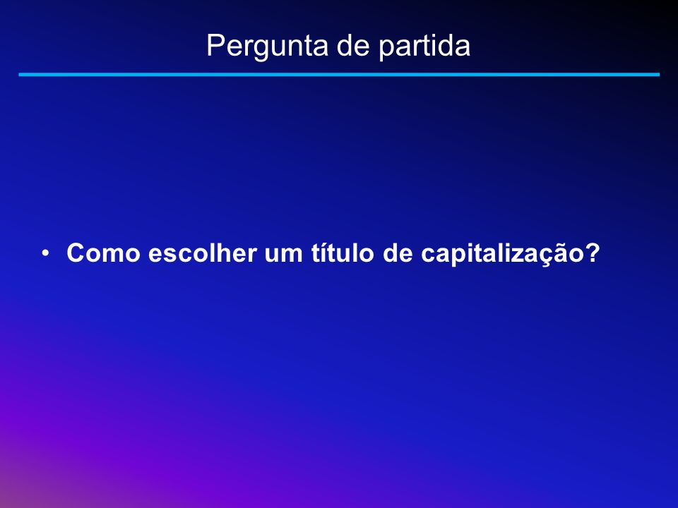 Fundamentos teóricos – Quotas Quota de capitalização (QC) Quota do sorteio (QS) Quota de carregamento (QCa)