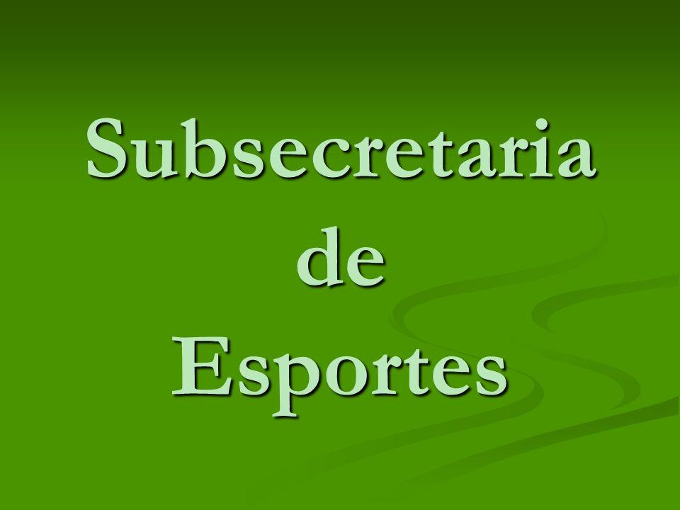 Subsecretaria de Esportes