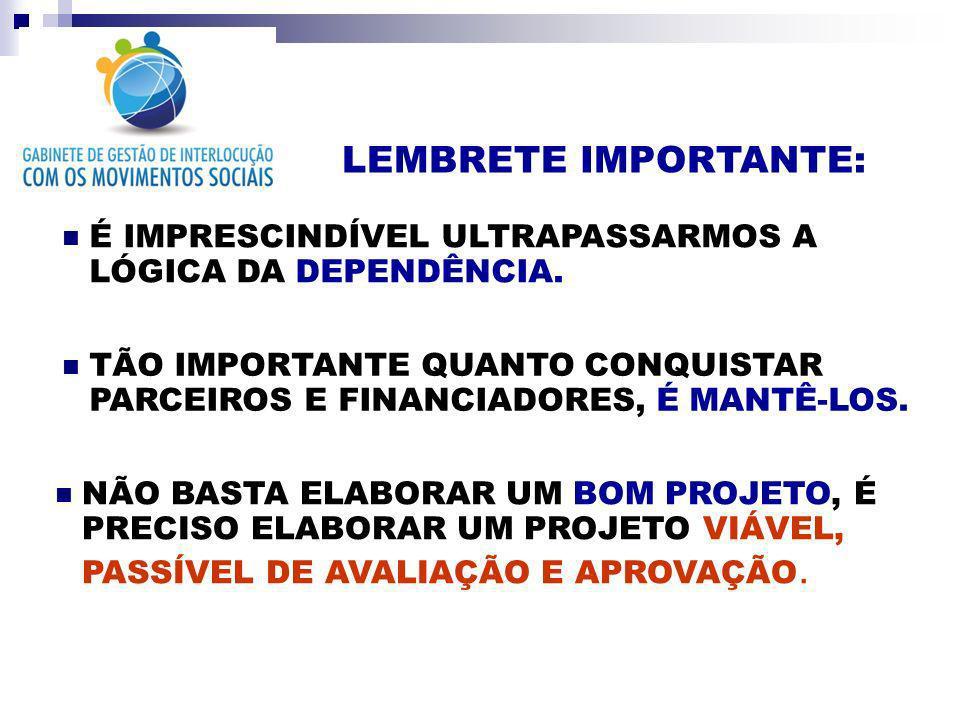INDICADORES DO PROJETO CONCEITOVARIÁVEISINDICADORES Participação Comunitária 1.