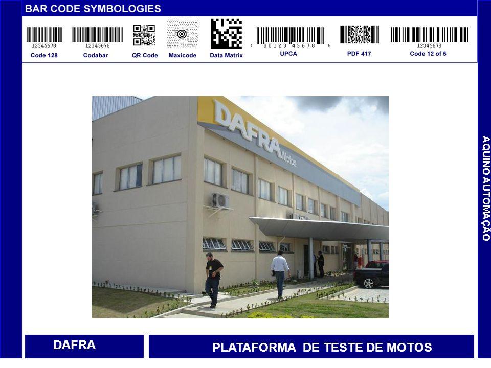 DAFRA PLATAFORMA DE TESTE DE MOTOS AQUINO AUTOMAÇÃO