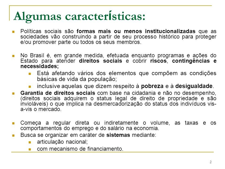 Efeito das Políticas de transferências sobre a pobreza 1978 23