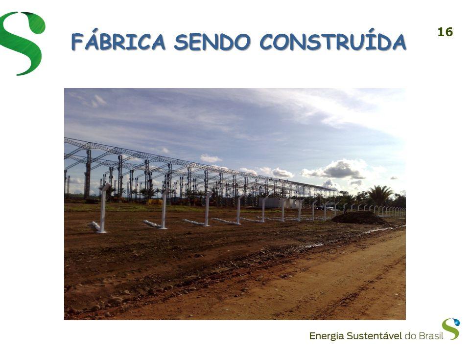 16 FÁBRICA SENDO CONSTRUÍDA