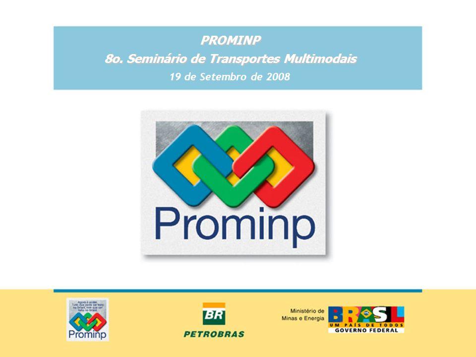 Objetivo do PROMINP Maximizar a participação da indústria nacional de bens e serviços, em bases competitivas e sustentáveis, na implantação de projetos de óleo e gás no Brasil e no exterior.